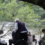 Stuart Wilde healings at Glendalough Lake, Co. Wicklow Ireland
