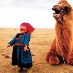 Child Camel Laughing
