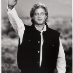 Stuart Wilde Sun Salute 1988 Taos NM (photo J. Rigler)