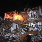 Apartment Complex Destroyed