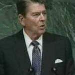 Reagan at UN, Alien Threat Speech